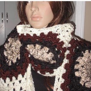 Unique one of a kind Extra Long and Wide scarf